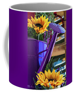 Complementary Sunflowers Coffee Mug