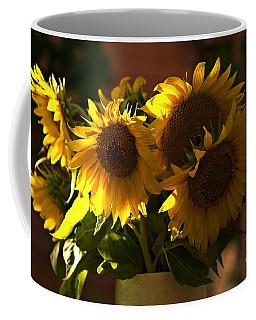 Sunflowers In A Vase Coffee Mug