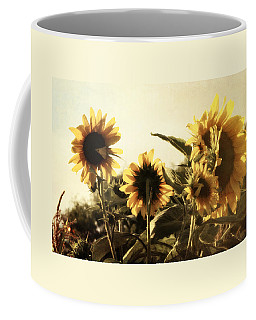 Coffee Mug featuring the photograph Sunflowers In Tone by Glenn McCarthy Art and Photography
