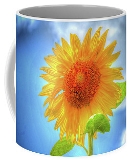 Sunflowers Make Me Smile Coffee Mug