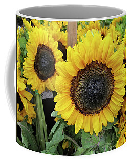 Sunflowers Coffee Mug by Melinda Saminski