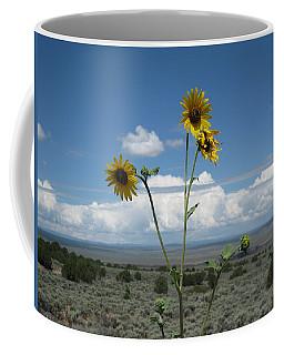 Sunflowers On The Gorge Coffee Mug
