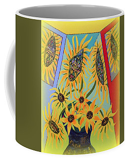 Sunflowers Rhapsody Coffee Mug