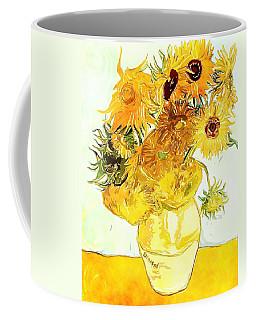 Sunflowers Van Gogh Coffee Mug
