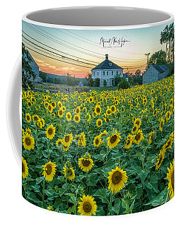 Coffee Mug featuring the photograph Sunflowers For Wishes  by Michael Hughes