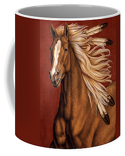 Sunhorse Coffee Mug by Pat Erickson