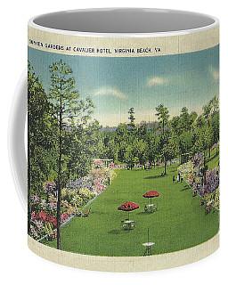Sunken Garden At The Cavalier Hotel Virginia Beach Coffee Mug