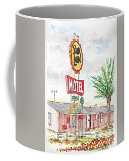 Sunland Motel, Route 80, Meza, Arizona Coffee Mug