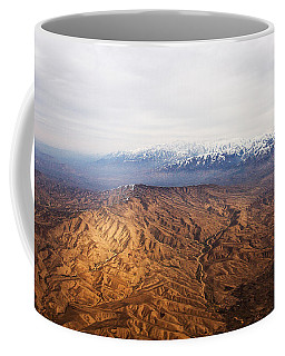 Sunlight And Snow-capped Peaks Coffee Mug