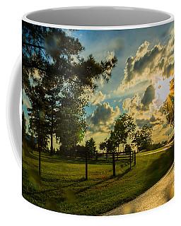 Sunlight Around The Corner Coffee Mug