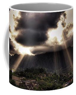 Sunlight Breaking Through The Gloom Coffee Mug