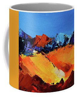 Sunlight In The Valley Coffee Mug