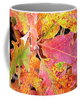 Sunlight Leaves Coffee Mug