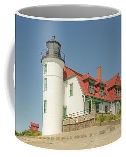 Sunlight On Point Betsie Lighthouse Coffee Mug