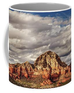 Coffee Mug featuring the photograph Sunlight On Sedona by James Eddy