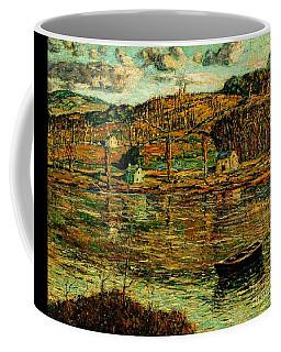 Sunlight On The Harlem River 1919 Coffee Mug