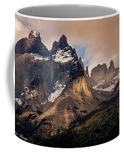 Sunlight On The Mountain Coffee Mug by Andrew Matwijec