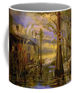 Sunlight On The Swamp Coffee Mug