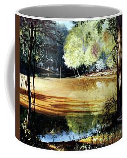 Sunlight On Village Creek Coffee Mug