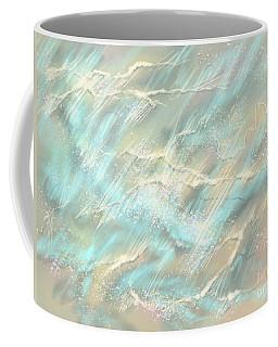 Coffee Mug featuring the digital art Sunlight On Water by Amyla Silverflame