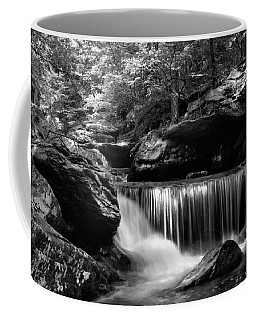 Sunlight On Waterfall Coffee Mug