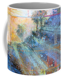 Coffee Mug featuring the painting Sunlight Streaks by Andrew King