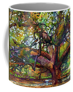 Sunlit Century Tree Coffee Mug
