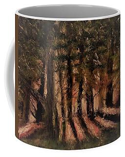 Sunlit Forest Coffee Mug