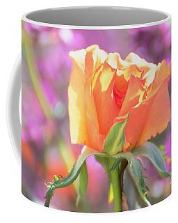 Sunlit Rose Coffee Mug by Debby Pueschel