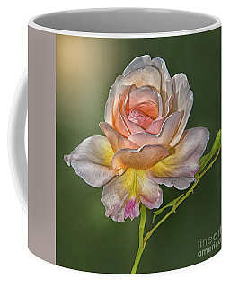 Sunlit Rose Coffee Mug