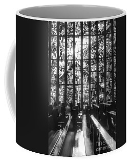Sunlit Stained Glass At Czestochowa Shrine, Pa Coffee Mug