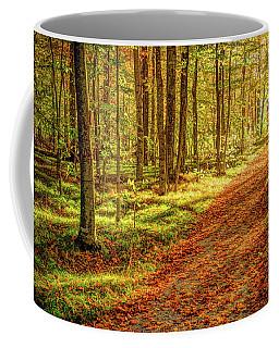 Sunlit Trail Coffee Mug