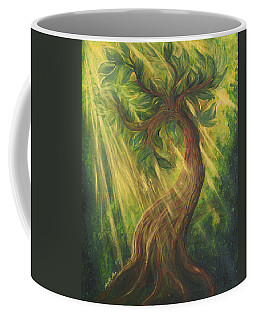 Sunlit Tree Coffee Mug