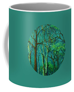 Sunlit Woodland Path Coffee Mug