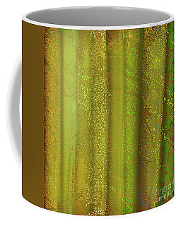 Sunlit Fall Forest Coffee Mug