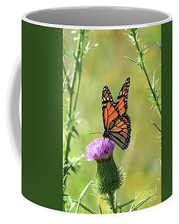 Sunlit Monarch Coffee Mug