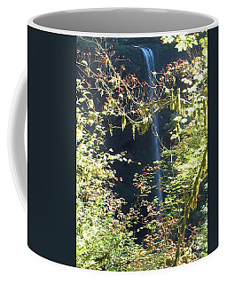 Coffee Mug featuring the photograph Sunlite Silver Falls by Thomas J Herring
