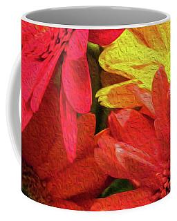 Sunny Daisy Flower Art Coffee Mug