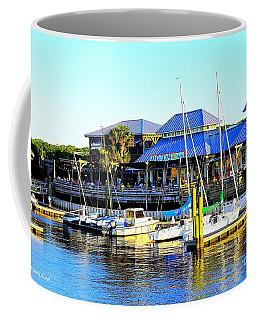 Sunny Day At Mojo's Coffee Mug by Shelia Kempf
