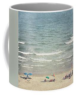 Sunny Day At North Myrtle Beach Coffee Mug