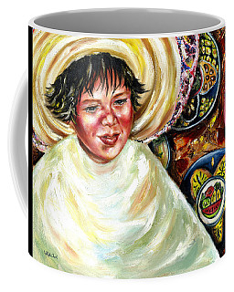 Coffee Mug featuring the painting Sunny Day by Hiroko Sakai