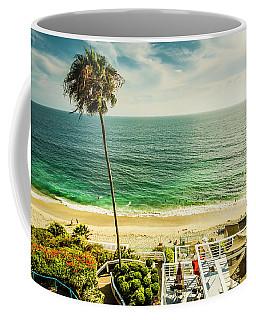 Coffee Mug featuring the photograph Sunny Day Laguna Beach 5530 by Amyn Nasser