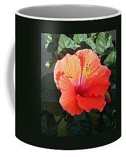 Sunny Hibiscus Coffee Mug
