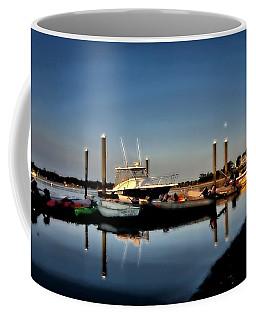 Sunny Morning At Onset Pier Coffee Mug