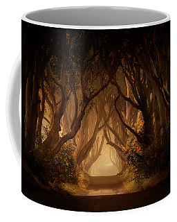 Sunny Morning In Dark Hedges Coffee Mug