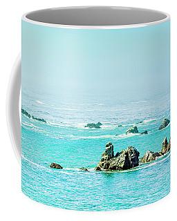 Sunny Pacific Ocean Oregon Coast Coffee Mug