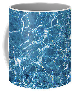 Coffee Mug featuring the photograph Sunny Reflections On Tropical Water by Jenny Rainbow