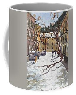 Sunny Street, Valledemossa Coffee Mug
