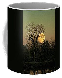 Coffee Mug featuring the photograph November Supermoon  by Chris Berry