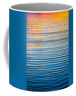 Sunrise Abstract  Coffee Mug by Parker Cunningham